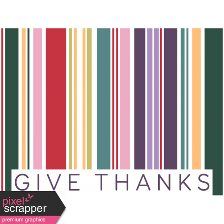Day of Thanks Print Kit - Barcode
