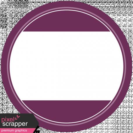 Elegant Autumn Mini Kit 3 - Purple Tag