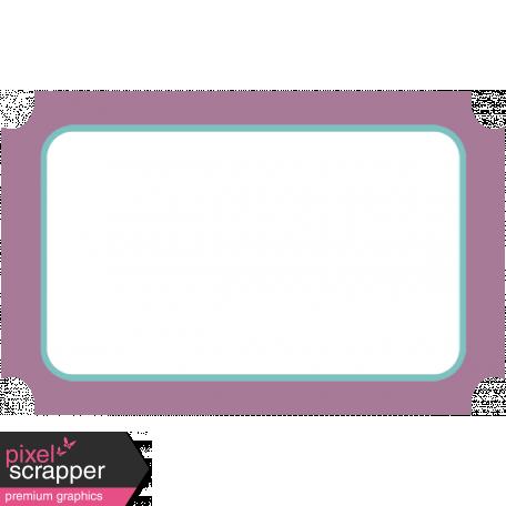 Elegant Autumn Mini Kit 3 - Tag Light Purple