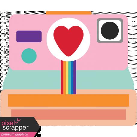 Valentines Clip Art Camera Graphic By Marisa Lerin Pixel