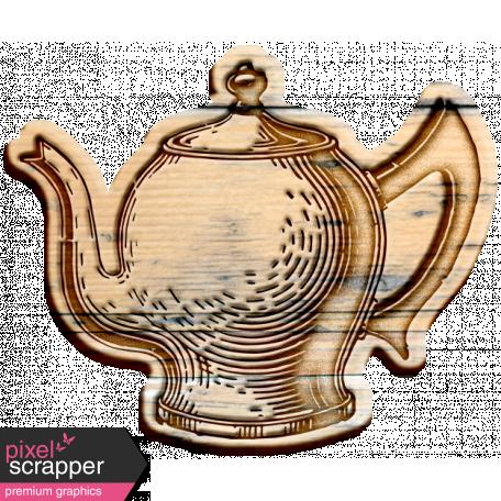 Tea & Toast Elements Kit - Wood Teapot