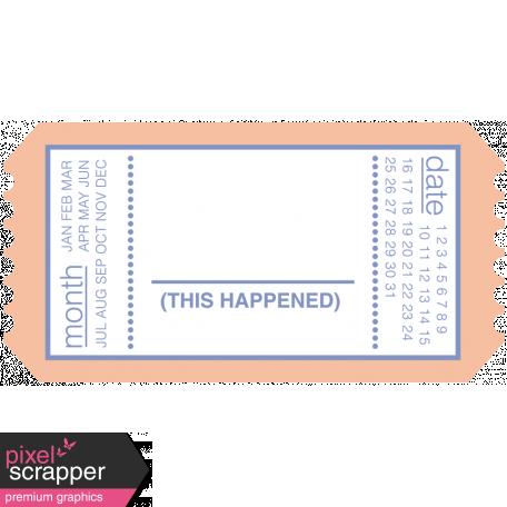 Build Your Basics Tickets Kit - Ticket 25