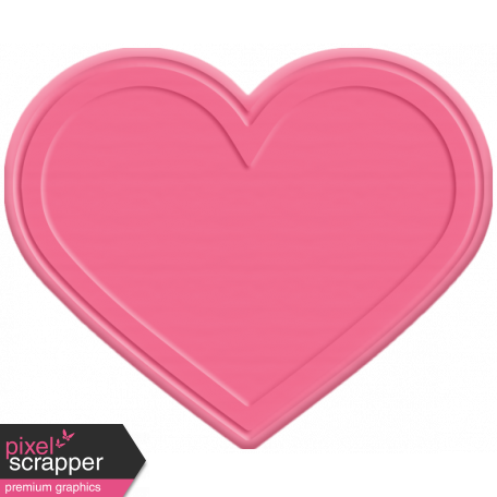 The Good Life - June Elements - Rubber Heart Pink