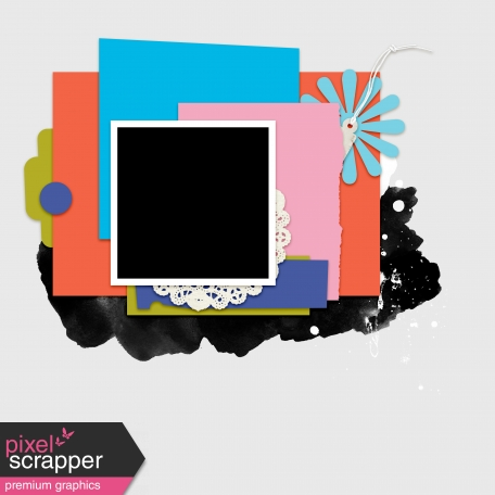 Layout Template Kit #36 - Template B