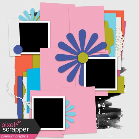 Layout Template Kit #36 - Template C