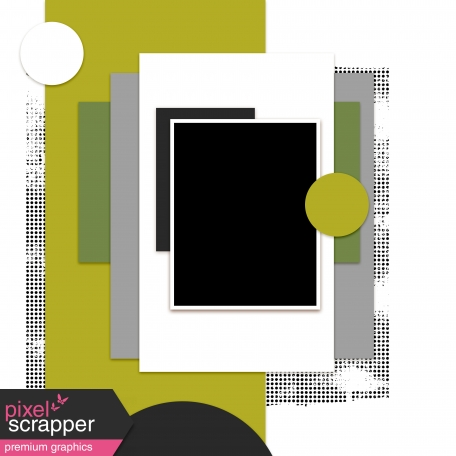 Layout Template Kit #37 - Template A