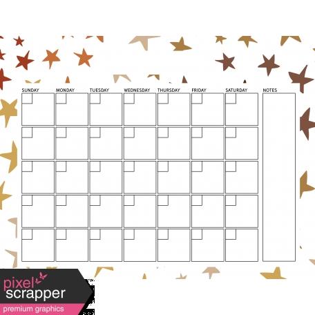 I Dig It Calendars - Calendar 8.5x11 Blank