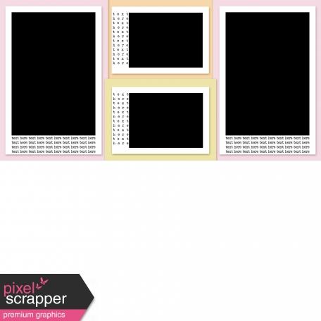 Pocket Templates Kit #2 Redone - Template 4