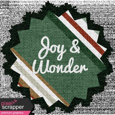 The Good Life - December Elements - Burlap Joy And Wonder