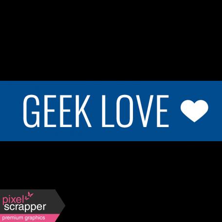 SciFi Elements - Label Geek Love