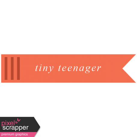 Wild Child Words & Tags - Tag Tiny Teenager