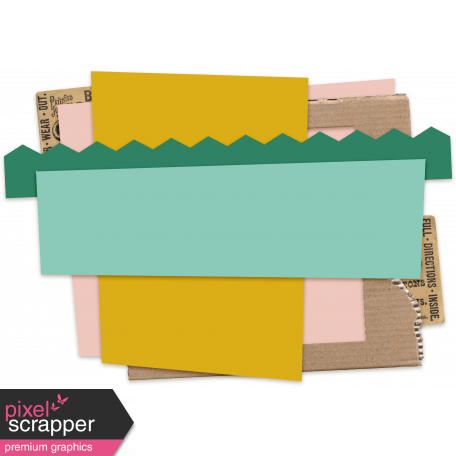 Cluster Templates Kit #2: Scrap Layers 4