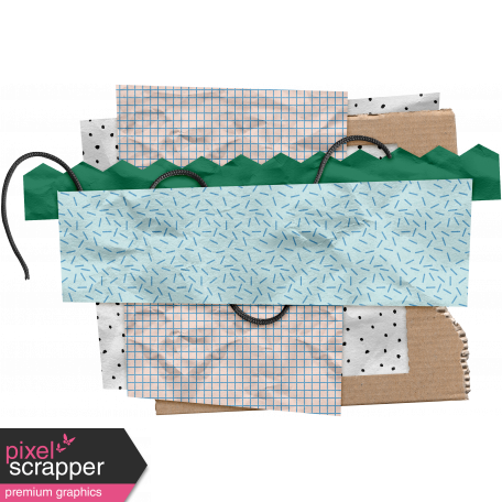 The Good Life: March Clusters - Scrap Layers 04