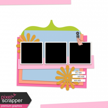 Layout Templates Kit #43 - Template 43C