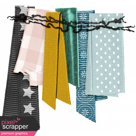 The Good Life - March 2019 Elements - Ribbon Bunting
