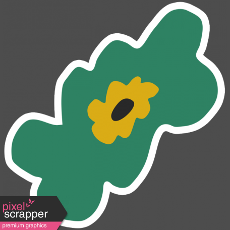 The Good Life - March 2019 Elements - Sticker Flower 3