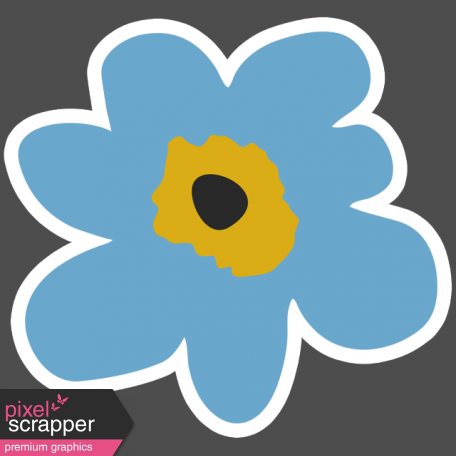 The Good Life - March 2019 Elements - Sticker Flower 2