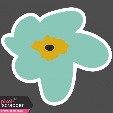 The Good Life - March 2019 Elements - Sticker Flower 1