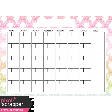 The Good Life: April Calendars - Calendar 2 5x7