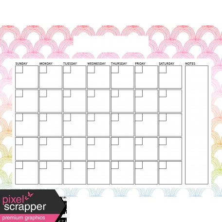 The Good Life: April Calendars - Calendar 2 8.5x11