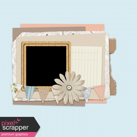 Layout Templates Kit #44 - Template 44D