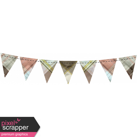 Spring Cleaning Elements - Bunting 1