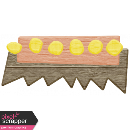 Spring Cleaning Elements - Wood Scrub Brush