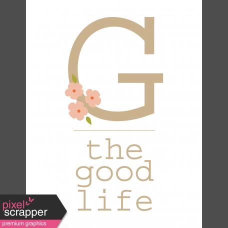 The Good Life - May 2019 Dashboards - Dashboard 2 8.5x11
