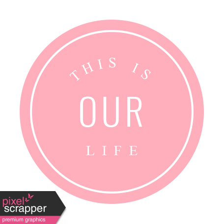 Spring Cleaning Words & Tags Kit: this is our life