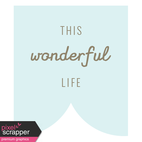 Spring Cleaning Words & Tags Kit: this wonderful life