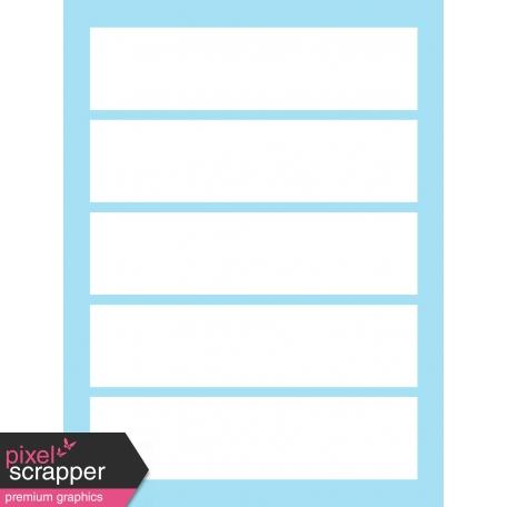 Journal Card Templates Kit #2 - g 3x4