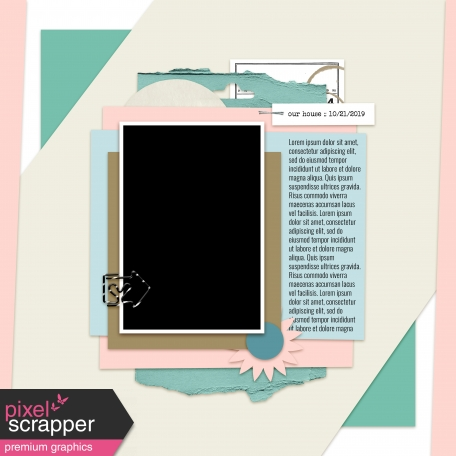 Layout Templates Kit #46 - Template 46d