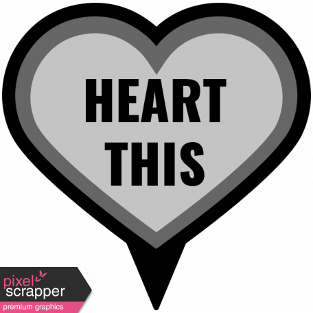 Templates Grab Bag Kit #22 - Layered Heart This Template