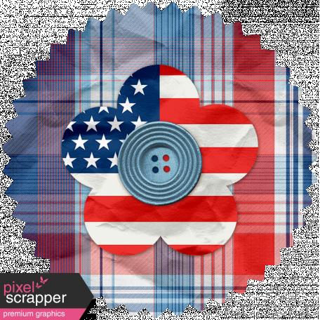 Americana Elements - Flower 4