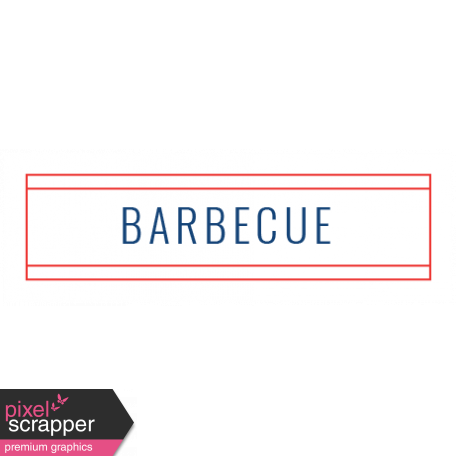Americana Elements - Label Barbecue