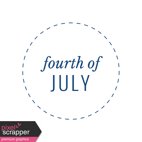 Americana Elements - Label Forth Of July