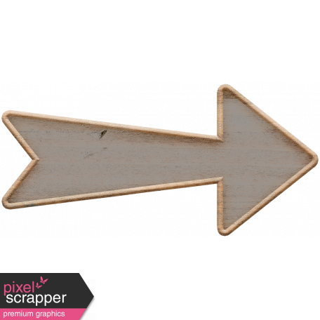 Templates Grab Bag Kit #23: wood arrow 2
