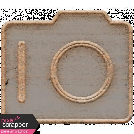 Templates Grab Bag Kit #23: wood camera template