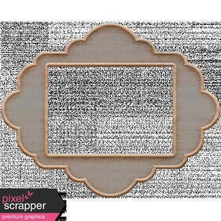 Templates Grab Bag Kit #23: wood frame 3 template