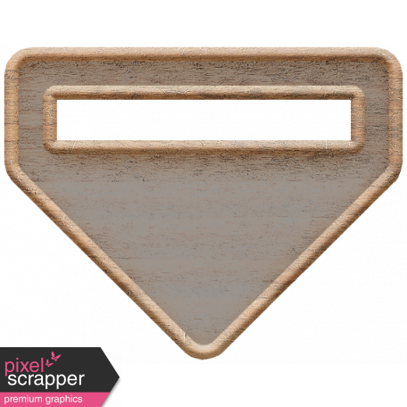 Templates Grab Bag Kit #23: wood tag 2 template