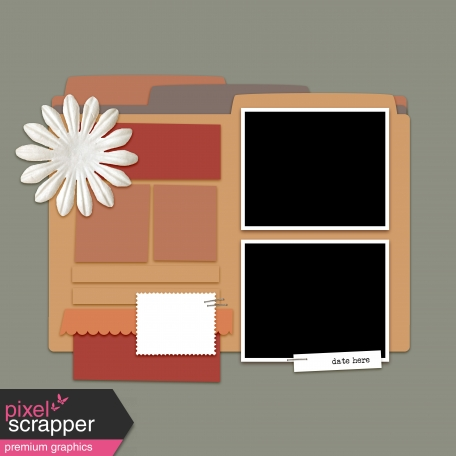 Layout Templates Kit #50 - Layout Template 50d