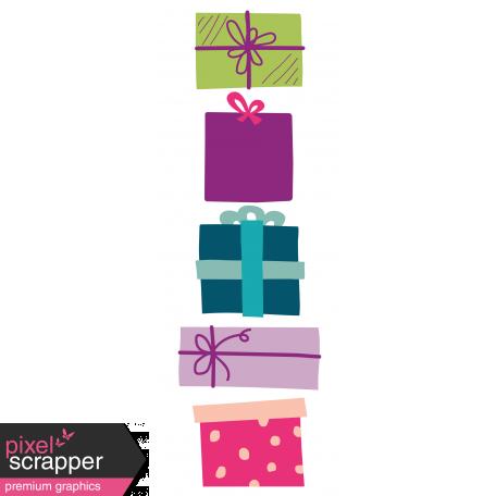 The Good Life: December 2019 Christmas Journal Me Kit - Journal Card 3 3x8