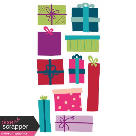 The Good Life: December 2019 Christmas Journal Me Kit - Journal Card 3 travelers notebook