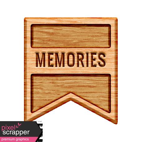The Good Life - November 2019 Elements - Wood Label Memories 2