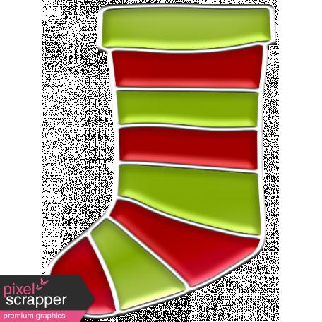 The Good Life: December 2019 Christmas Elements Kit - enamel stocking 1