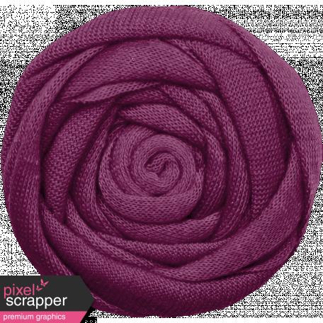 The Good Life: December 2019 Hanukkah Elements Kit - flower 5 purple