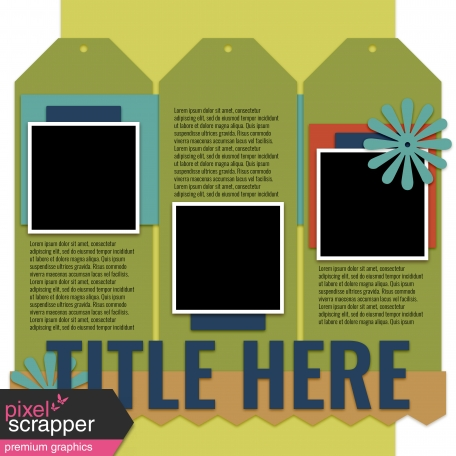 Layout Templates Kit #53 - Layout Template 53b