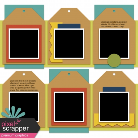 Layout Templates Kit #53 - Layout Template 53c