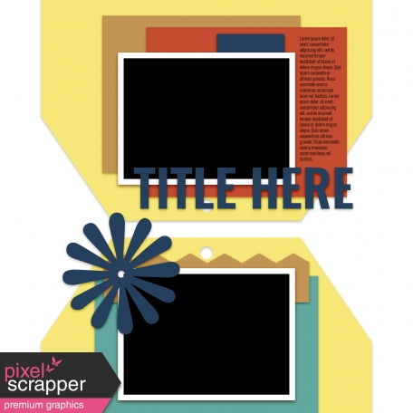 Layout Templates Kit #53 - Layout Template 53d