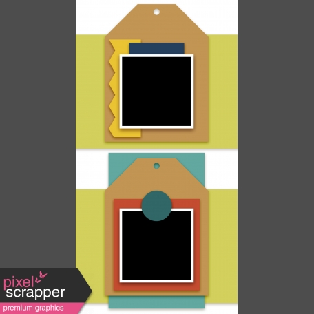 Travelers Notebook Layout Templates Kit #5 - layout template 5c